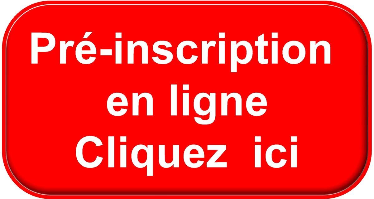 INSCRIPTION SAISON SPORTIVE LICENCE INCLUS DANS LA PRE-INSCRIPTION DE LA SAISON EN COURS
